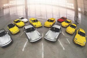 Коллекцию из 12 редких Porsche оценили в 7 миллионов долларов
