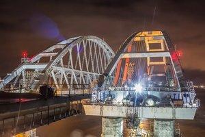 Строительство Крымского моста: в России озвучили планы на 2018