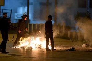 В Тунисе вспыхнули протесты: один человек погиб