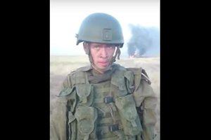 Российский солдат сжег БТР, разогревая консервы (18+)