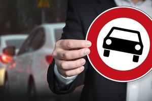 В стране бывшего СССР запретили все автомобили, кроме белых