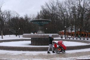 В киевском парке Рыльского установили боллард