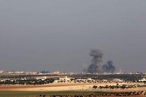 Удар по террористам в Сирии показали на видео
