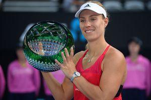 Немка Ангелик Кербер выиграла турнир в Сиднее