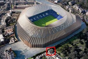 """Семья из Лондона блокирует строительство стадиона """"Челси"""" из-за тени на их дом"""