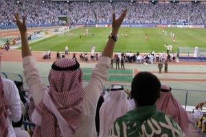 Женщины Саудовской Аравии впервые посмотрели футбол на стадионе