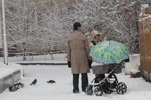 На следующей неделе в Украине будет снежно и холодно