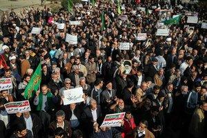 В Иране в акциях протеста погибли 25 человек