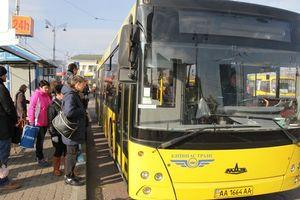 В Киеве разъяренный пассажир устроил поножовщину в автобусе