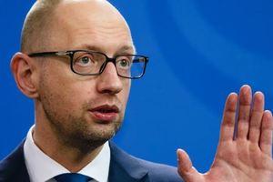Яценюк рассчитывает на принятие законопроекта по Донбассу