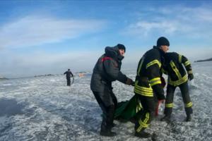 Трагедия в Черкассах: под лед провалились двое подростков