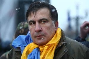 """Журналистов выгнали из """"лагеря Саакашвили"""" под Радой"""