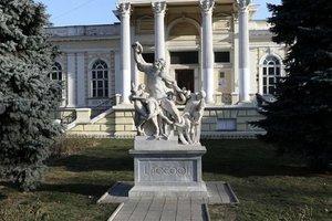 В Одессе изуродовали скульптуру Лаокоона