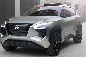 Nissan представил брутальный вседорожник: 6 кресел, 7 экранов и рыбка