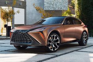 Автомобили будущего: Lexus представил суперроскошный внедорожник