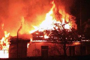 Под Киевом в пожаре погибли маленький ребенок и пенсионер