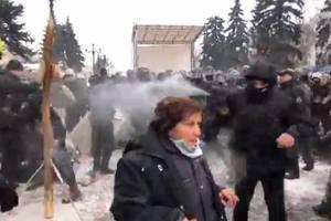 Стычки под Радой: в полиции сообщили о пострадавших