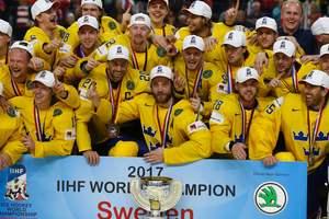 Сборная Швеции по хоккею назвала состав на Олимпийские игры