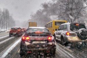 В Киеве могут запретить въезд фур из-за метели