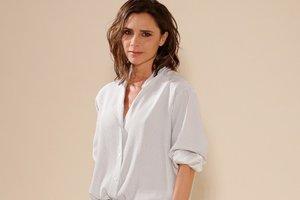 43-летняя Виктория Бекхэм снялась в боди в фотосессии для Vogue