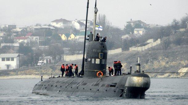 Подлодка «Запорожье». Единственная субмарина Украины осталась после аннексии в Крыму. Фото: vmsu.info