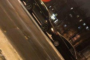 """Масштабное ДТП в Киеве: возле Кардач - """"паровоз"""" из пяти авто"""