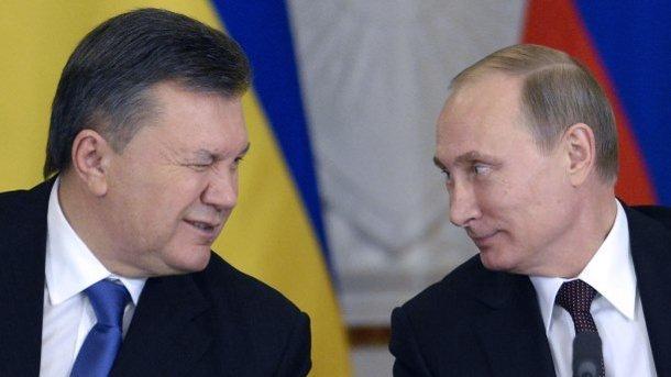 Виктор Янукович и Владимир Путин. Фото: архив
