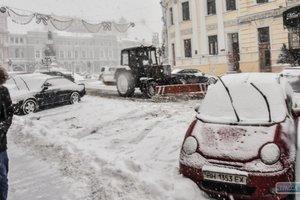 Юг Украины замело снегом: самое страшное - впереди
