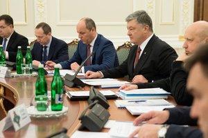 Порошенко: Новый закон о нацбезопасности направлен на членство Украины в НАТО и ЕС