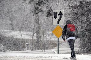 В США из-за зимнего шторма отменены более тысячи авиарейсов