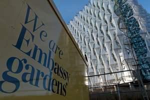 В Лондоне открылось ультрасовременное здание посольства США за 1 млрд долларов