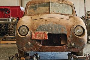Редчайший довоенный BMW 50 лет ржавел в сарае