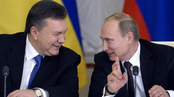 Янукович и Путин. Фото: архив