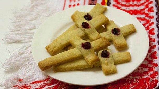 печенье кресты рецепт на крещение