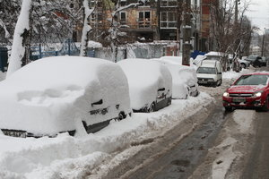 В Киеве в пятницу будет очень скользко