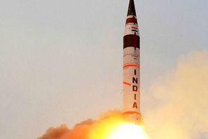 В Индии запустили межконтинентальную баллистическую ракету