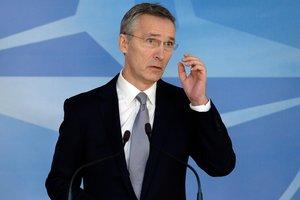 Столтенберг назвал главное условие для вступления Македонии в НАТО