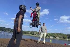 Создатели ховерборда представили миру летающий сегвей (видео)