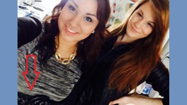 ВКанаде девушку, убившую приятельницу, «выдало» селфи на фейсбук