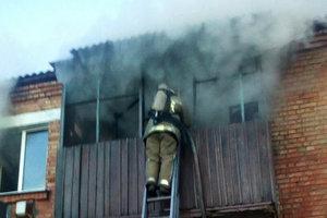На пожаре в Харьковской области погиб мужчина