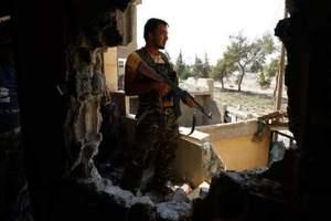 Сирийская армия отбила у повстанцев военный аэропорт в провинции Идлиб