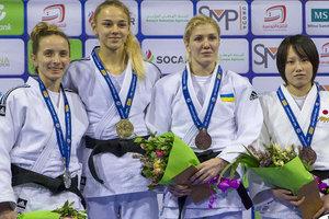 Юная украинка Дарья Белодед выиграла Гран-при по дзюдо в Тунисе