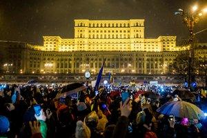 В Румынии 30 тысяч человек вышли на митинг против коррупции
