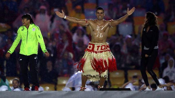 Пита Тауфатофуа на Олимпиаде-2016. Фото Getty