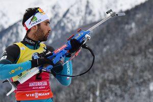Мартен Фуркад выиграл последнюю биатлонную гонку перед Олимпиадой-2018