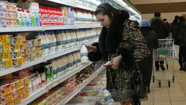 """Мясо и молоко """"потянули"""" за собой инфляцию"""