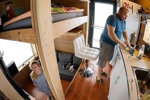 """Белорусская семья построила удобный дом на 16 """"квадратов"""": фото"""