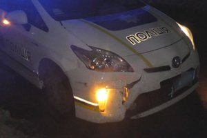 In the Rivne region, cops with the shooting chased a drunk driver