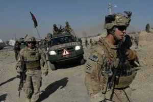 Тысяча военных из США может отправиться в Афганистан уже весной