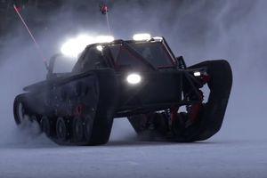 Смесь ракеты и танка: какой машине не страшен снежный апокалипсис